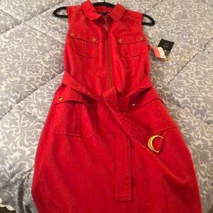 Brand New Zac & Rachel red dress, Size 14